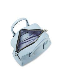 Marc Jacobs - Blue Bauletto Cielo Leather Shoulder Bag - Lyst