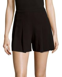 Alice + Olivia | Black Lorna Shorts | Lyst