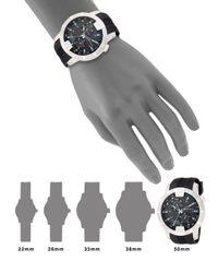 Saks Fifth Avenue - Metallic Stainless Steel & Rubber Multi-function Watch - Lyst