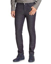 Nudie Jeans - Blue Grim Tim Straight Slim Jeans for Men - Lyst