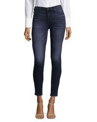 Hudson - Blue Krista Ankle-length Jeans - Lyst
