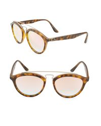 Ray-Ban - Brown 55mm Phantos Sunglasses - Lyst