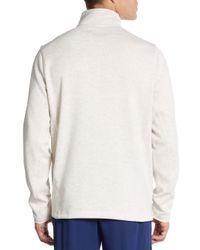 Fila - Natural Heathered Half-zip Pullover - Lyst