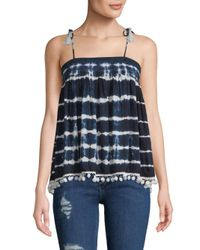 Raga - Blue Nautical Tank Top - Lyst