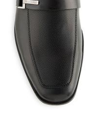 Steve Madden - Black Teesr Leather Loafers for Men - Lyst