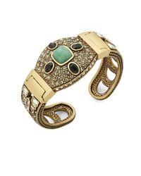 Heidi Daus | Metallic Deco Bangle Bracelet | Lyst
