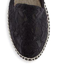 Manebí - Black Paris Macrame Lace Espadrilles - Lyst