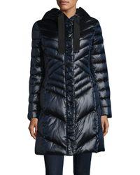 T Tahari - Black Noelle Puffer Jacket - Lyst