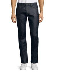 BOSS Blue Straight Dark Jeans for men