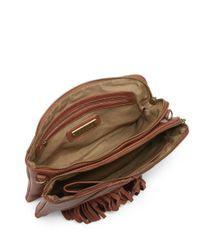 Steve Madden - Brown Blenora Fringe Shoulder Bag - Lyst