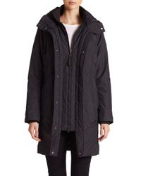 Post Card - Blue Three-quarter City Coat - Lyst