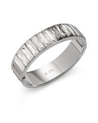 Swarovski - Metallic Crystal Bracelet - Lyst