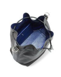 Proenza Schouler - Black Large Leather Bucket Bag - Lyst