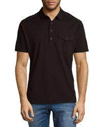 Ralph Lauren - Black Short Sleeve Cotton Polo for Men - Lyst