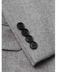 Saks Fifth Avenue - Gray Cashmere Blazer for Men - Lyst