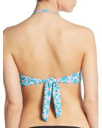 Trina Turk - Pink Venice Twist-front Bikini Top - Lyst