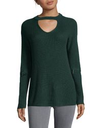 Saks Fifth Avenue - Green Modish Sweater - Lyst