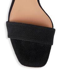 Halston Heritage - Black Issa Slip-on Sandals - Lyst