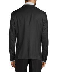 The Kooples - Black Classic Wool Tuxedo Jacket for Men - Lyst