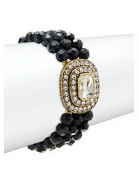 Heidi Daus - Multicolor Crystal & Rhinestone Multi-strand Bracelet - Lyst