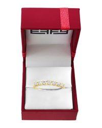Effy - Metallic D Oro Diamond And 14k Yellow Gold Ring - Lyst