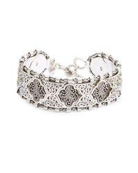 Lois Hill | Metallic Sterling Silver Bracelet | Lyst