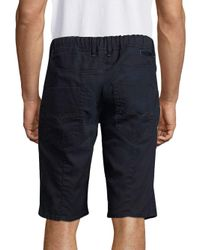 DIESEL - Blue Regular-fit Shorts for Men - Lyst