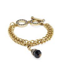 Heidi Daus - Black Swarovski Crystal & Rhinestone Bracelet - Lyst