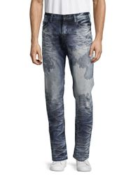 PRPS - Blue Congress Acid-wash Five-pocket Jeans for Men - Lyst