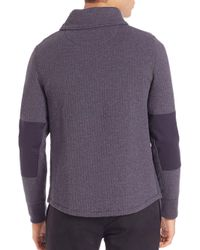 Billy Reid - Blue Barnes Shawl-collar Sweater for Men - Lyst