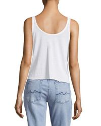 Chaser - White Statement Tank Top - Lyst