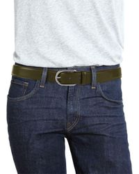 Bally - Green Greywall Leather Belt for Men - Lyst
