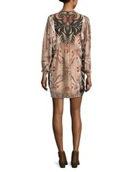 Rachel Zoe - Multicolor Lucia Date Palm Print Silk Dress - Lyst