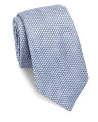 Ike Behar - Blue Medallion Silk Tie for Men - Lyst