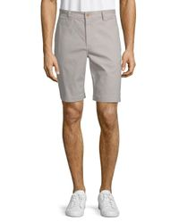 Tailor Vintage - Gray Stretch Shorts for Men - Lyst