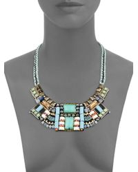 Nocturne - Multicolor Bella Beaded Statement Necklace - Lyst