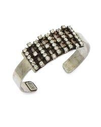 DANNIJO - Metallic Idris Cuff Bracelet - Lyst