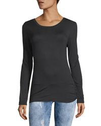 Gaiam - Black Hannah Long-sleeve Top - Lyst