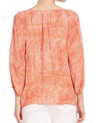 Joie | Multicolor Soft Legaspi Tassel Tie Blouse | Lyst