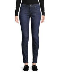 Joe's Jeans Blue Whiskered Skinny Jeans