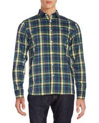Victorinox - Blue Morgan Plaid Sportshirt for Men - Lyst