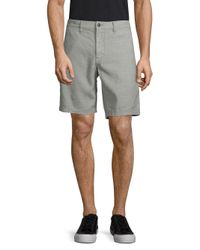 John Varvatos Gray Classic Casual Shorts for men