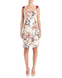 Randi Rahm - Multicolor Doris Floral Print Lace Dress - Lyst