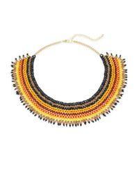 Saks Fifth Avenue - Metallic Multicolor Statement Necklace - Lyst