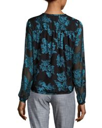 Lovers + Friends - Green Floating Floral Crop Top - Lyst