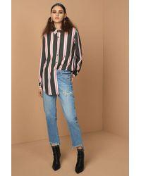 Sass & Bide - Multicolor Line By Line Shirt - Lyst