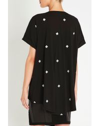 Sass & Bide - Black For The World Tee - Lyst
