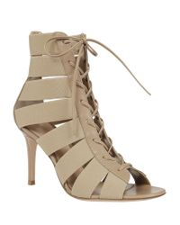 Gianvito Rossi - Natural Ankle Boot - Lyst