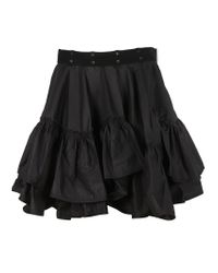 3.1 Phillip Lim - Black Flamenco Mini Skirt - Lyst