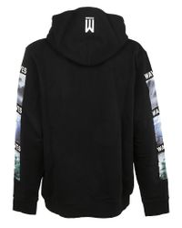 Marcelo Burlon - Surf Hood Black Multicolor for Men - Lyst